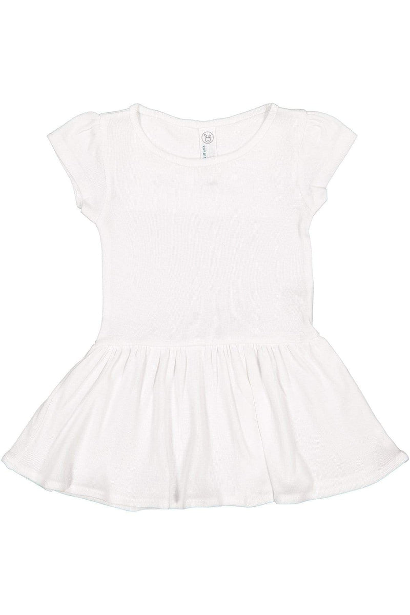 Rabbit Skins RS5320: Infant Baby Rib Dress-Infants | Toddlers-Bulkthreads.com, Wholesale T-Shirts and Tanks
