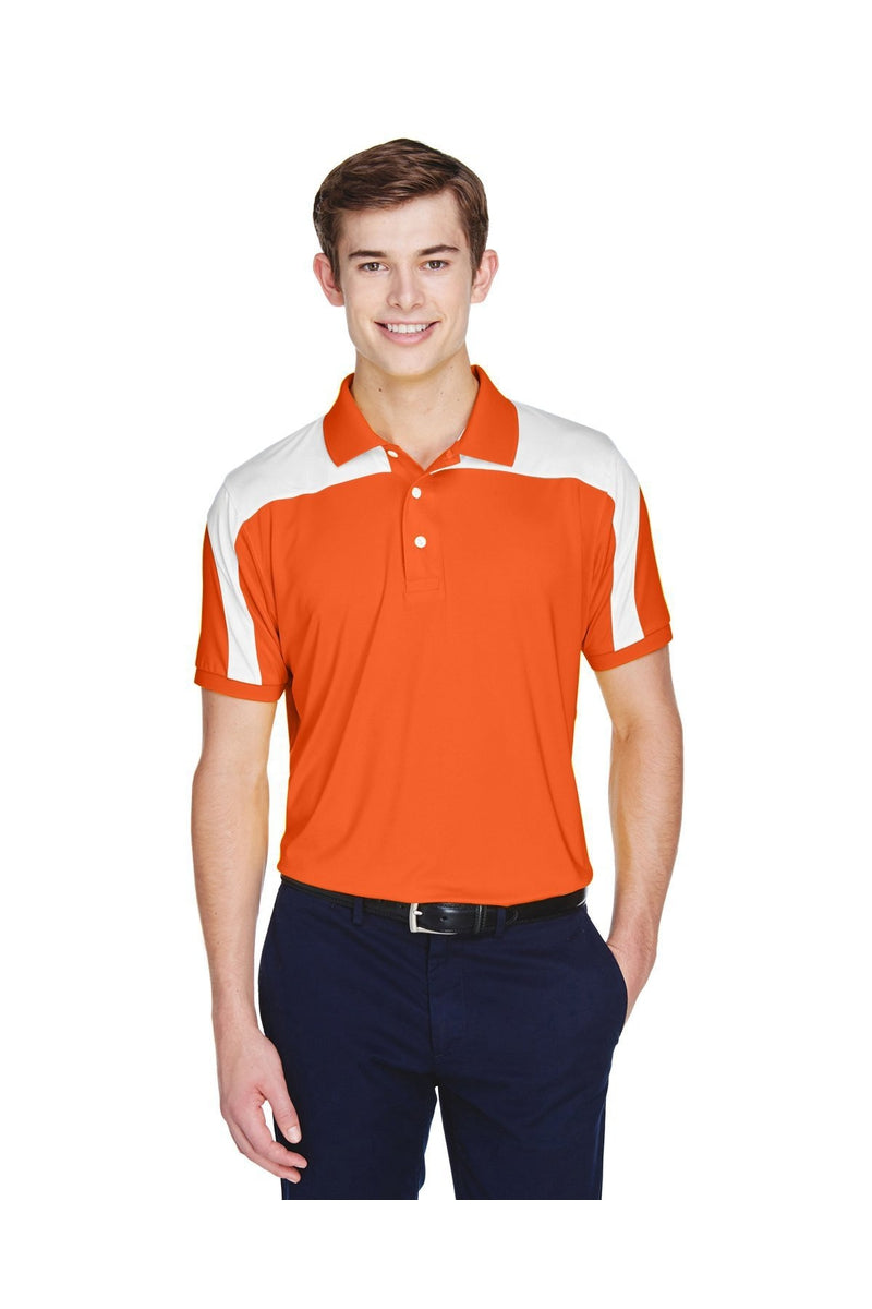 XL SPORT VEGAS GOLD Team 365 Mens Victor Performance Polo