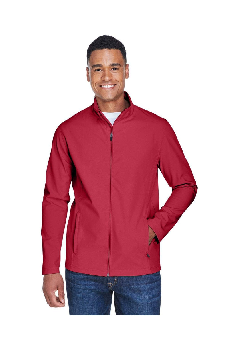 Team 365 TT80: Men's Leader Soft Shell Jacket-Outerwear-Bulkthreads.com, Wholesale T-Shirts and Tanks