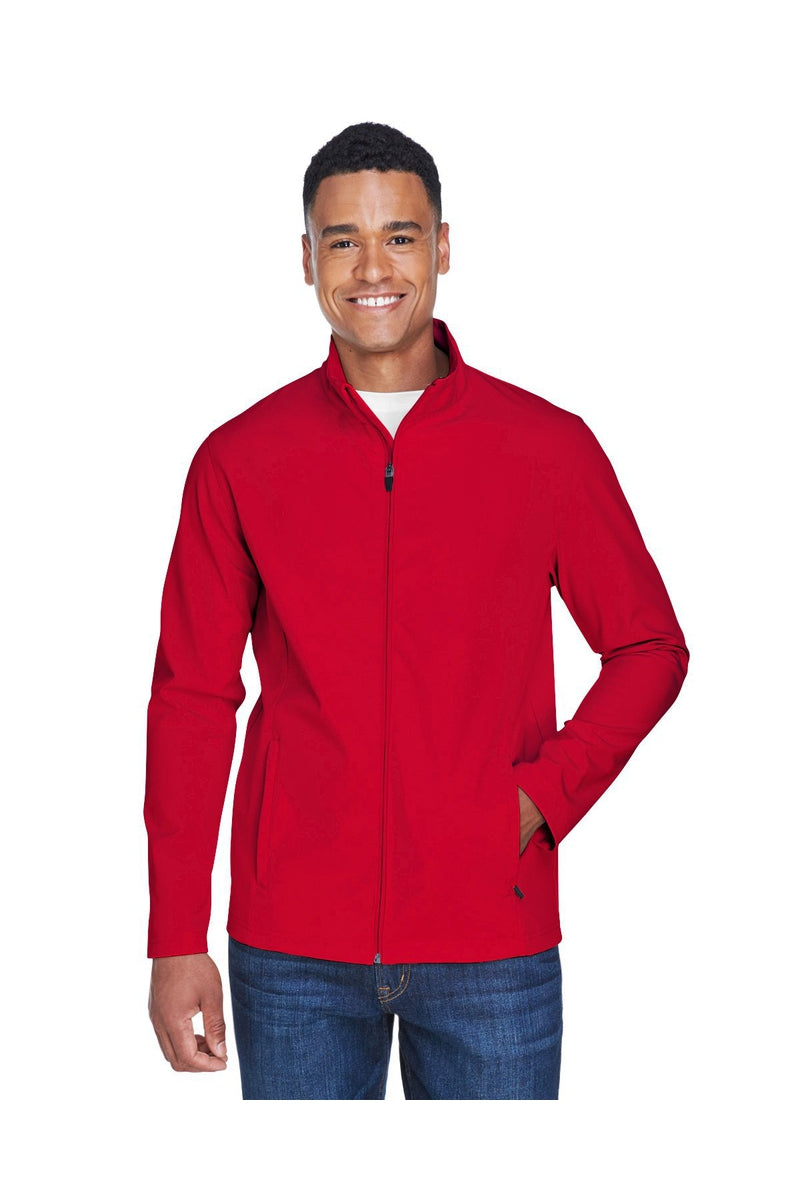 Team 365 TT80: Men's Leader Soft Shell Jacket, Basic Colors-Outerwear-Bulkthreads.com, Wholesale T-Shirts and Tanks