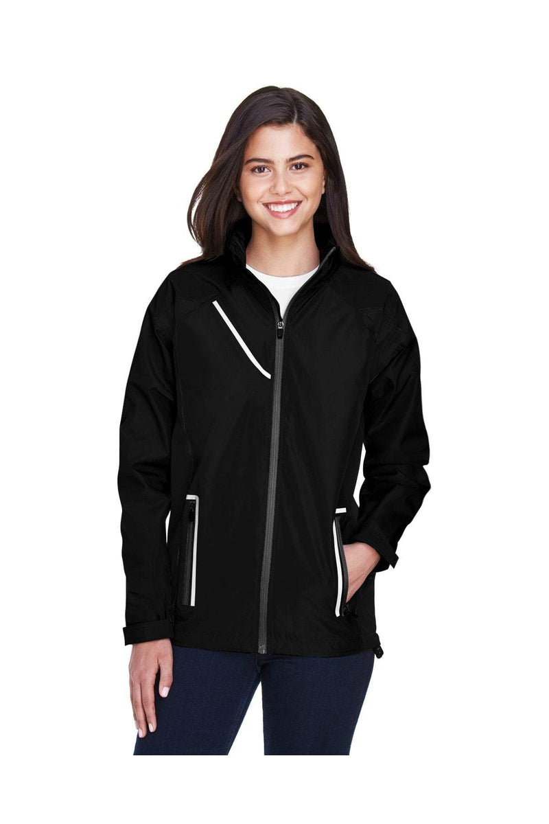 Team 365 TT86W: Ladies' Dominator Waterproof Jacket-Outerwear-Bulkthreads.com, Wholesale T-Shirts and Tanks