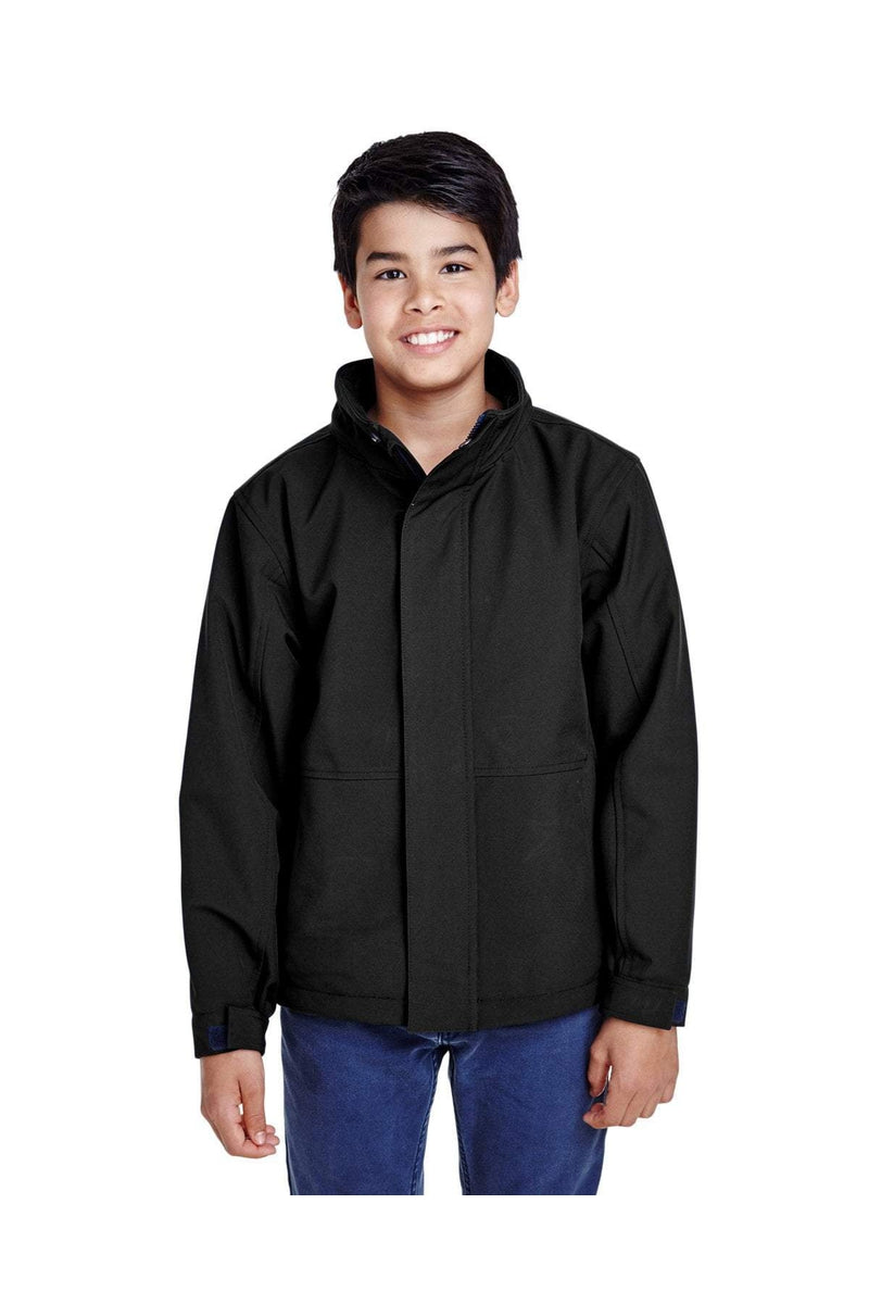 Team 365 TT88Y: Youth Guardian Insulated Soft Shell Jacket-Outerwear-Bulkthreads.com, Wholesale T-Shirts and Tanks