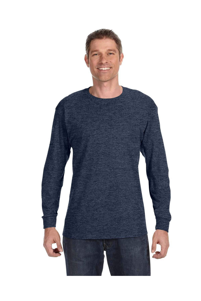 Jerzees 29L: Adult 5.6 oz. DRI-POWER® ACTIVE Long-Sleeve T-Shirt, Traditional Colors-Jerzees-Bulkthreads.com