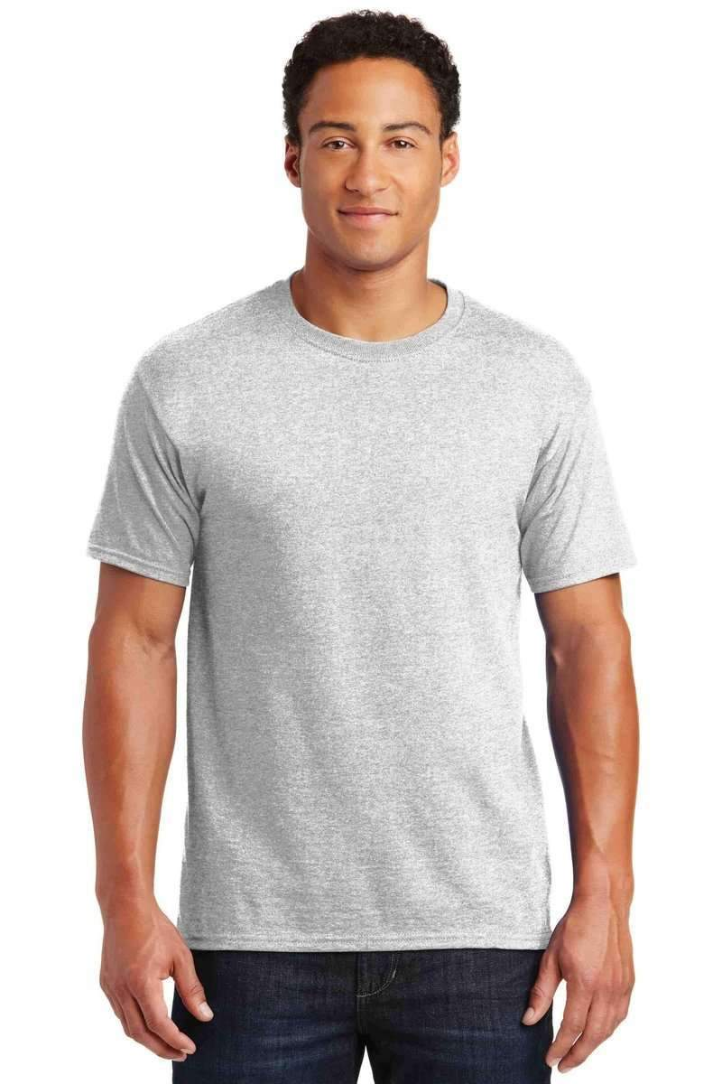 Jerzees 29M: Wholesale T Shirt, Traditional Colors-Men's T-shirt-Jerzees-S-Ash-wholesale t shirts -Bulkthreads.com