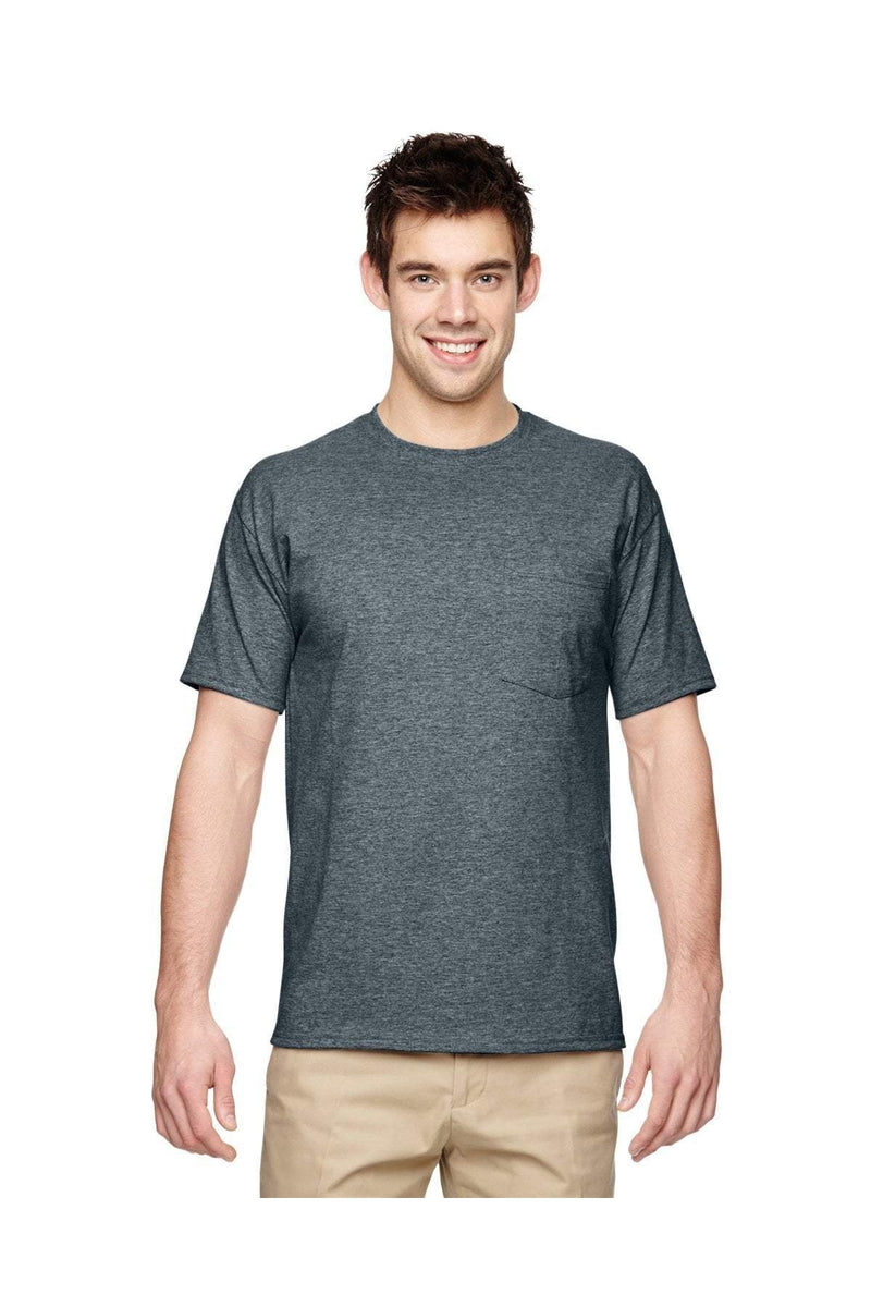 Jerzees 29P: Adult 5.6 oz. DRI-POWER® ACTIVE Pocket T-Shirt, Basic Colors-T-Shirts-Bulkthreads.com, Wholesale T-Shirts and Tanks