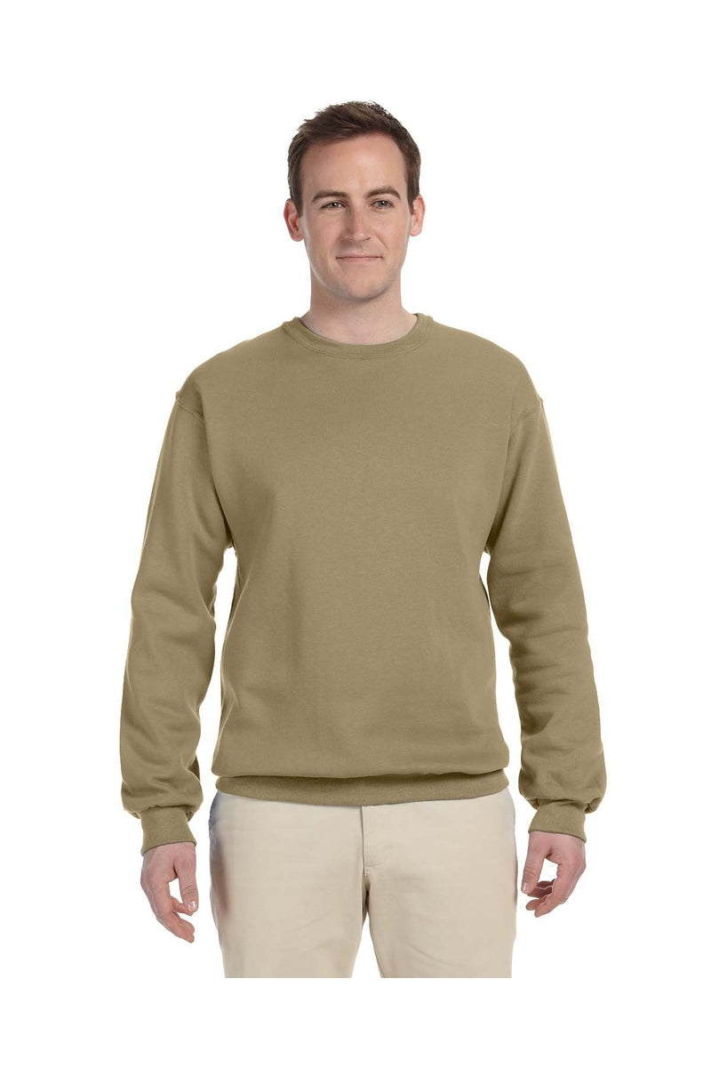 Jerzees 562: Adult 8 oz. NuBlend(r) Fleece Crew, Traditional Colors-Sweatshirts-Bulkthreads.com, Wholesale T-Shirts and Tanks
