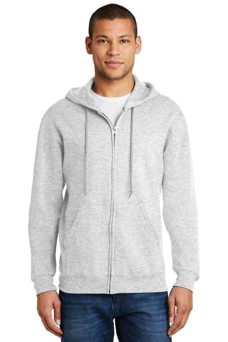 JERZEES 993: NuBlend Full-Zip Hooded Sweatshirt-Sweatshirts/Fleece-Bulkthreads.com, Wholesale T-Shirts and Tanks