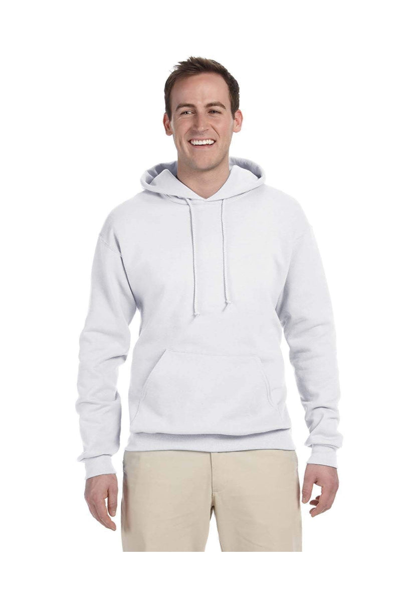 Jerzees 996MT: Men's Tall 8 oz. NuBlend(r) Hooded Sweatshirt-Jerzees-Bulkthreads.com