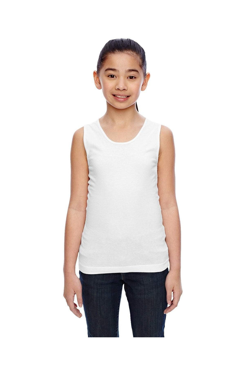 LAT 2690: Girls' Fine Jersey Tank-T-Shirts-Bulkthreads.com, Wholesale T-Shirts and Tanks