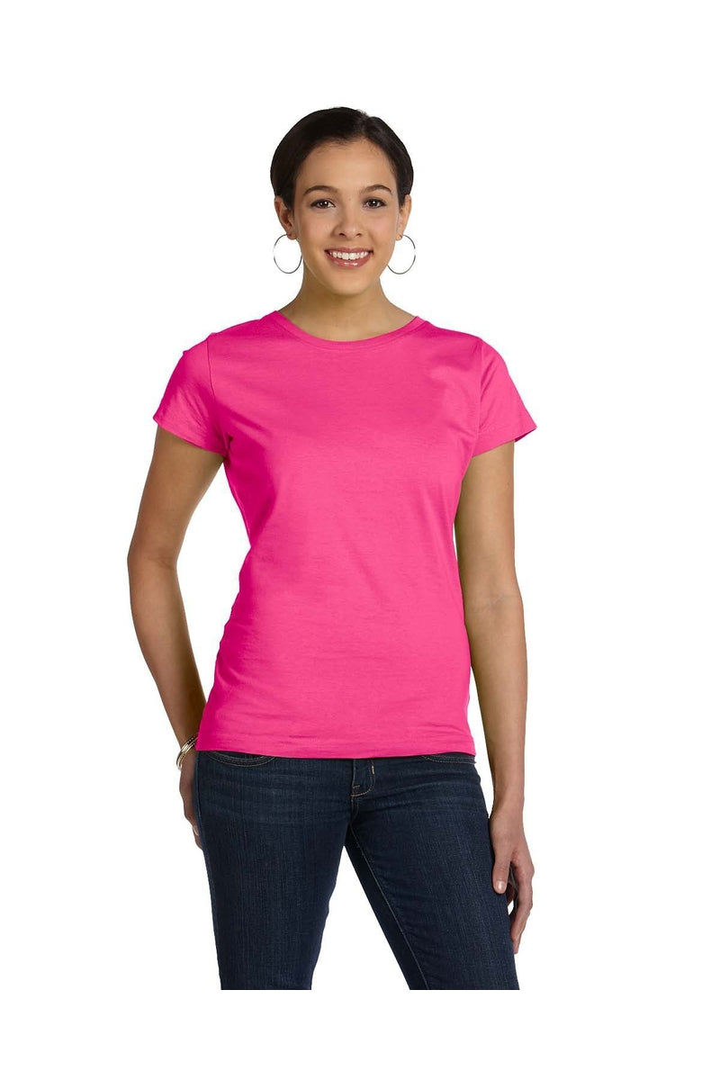 LAT 3516: Ladies' Fine Jersey T-Shirt, Basic Colors-T-Shirts-Bulkthreads.com, Wholesale T-Shirts and Tanks