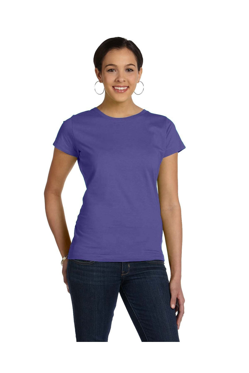 LAT 3516: Ladies' Fine Jersey T-Shirt, Traditional Colors-T-Shirts-Bulkthreads.com, Wholesale T-Shirts and Tanks