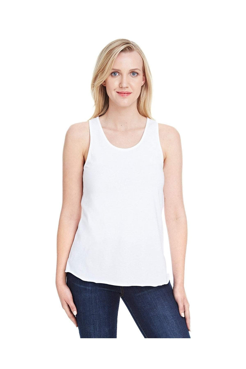 LAT 3521: Ladies' Relaxed Racerback Premium Jersey Tank-T-Shirts-Bulkthreads.com, Wholesale T-Shirts and Tanks