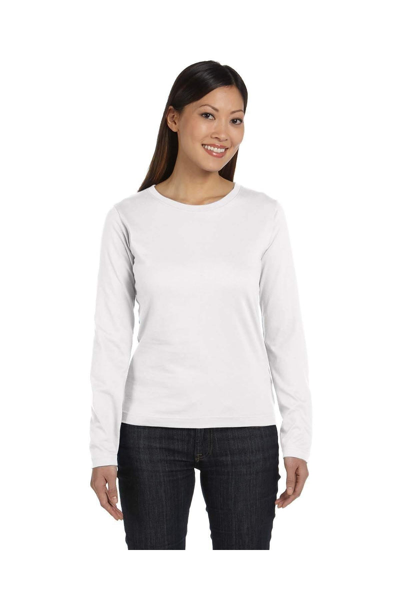 LAT 3588: Ladies' Long-Sleeve Premium Jersey T-Shirt-T-Shirts-Bulkthreads.com, Wholesale T-Shirts and Tanks