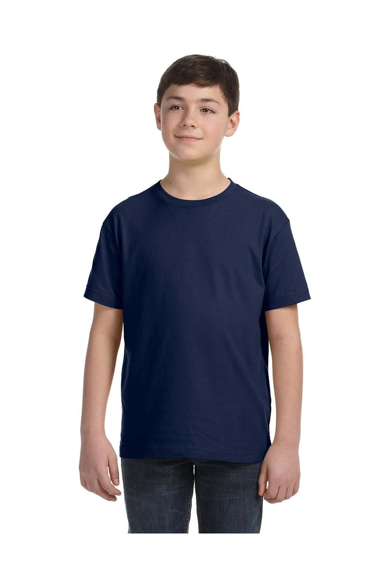 LAT 6101: Youth Fine Jersey T-Shirt, Basic Colors-T-Shirts-Bulkthreads.com, Wholesale T-Shirts and Tanks