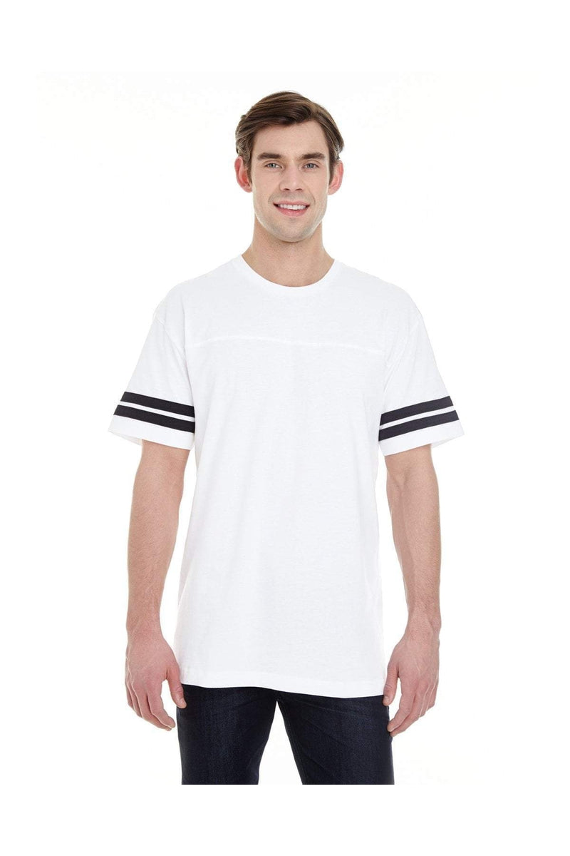 LAT 6937: Men's Football Fine Jersey T-Shirt-T-Shirts-Bulkthreads.com, Wholesale T-Shirts and Tanks