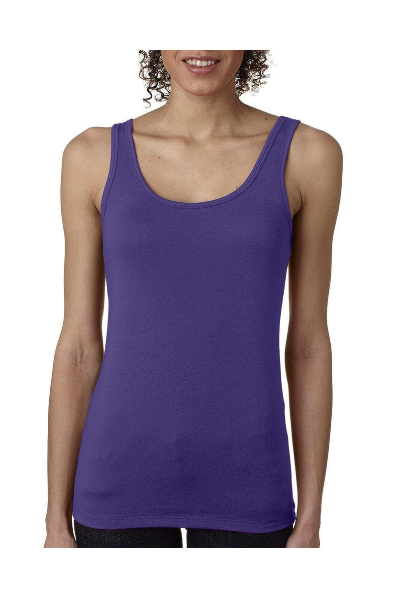 6573b90cd1d40 Next Level 3533  Ladies  Spandex Jersey Tank-T-Shirts-Bulkthreads.