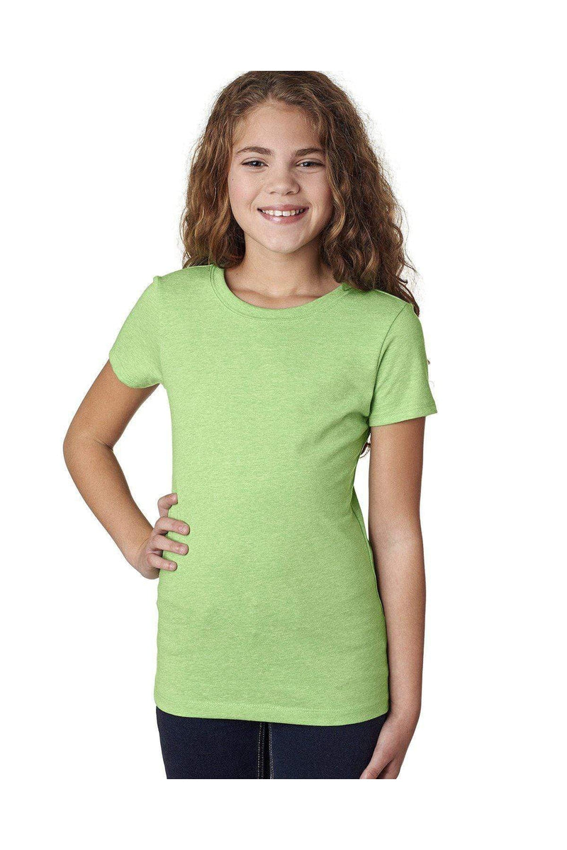 Next Level 3712: Youth Princess CVC T-Shirt-T-Shirts-Bulkthreads.com, Wholesale T-Shirts and Tanks