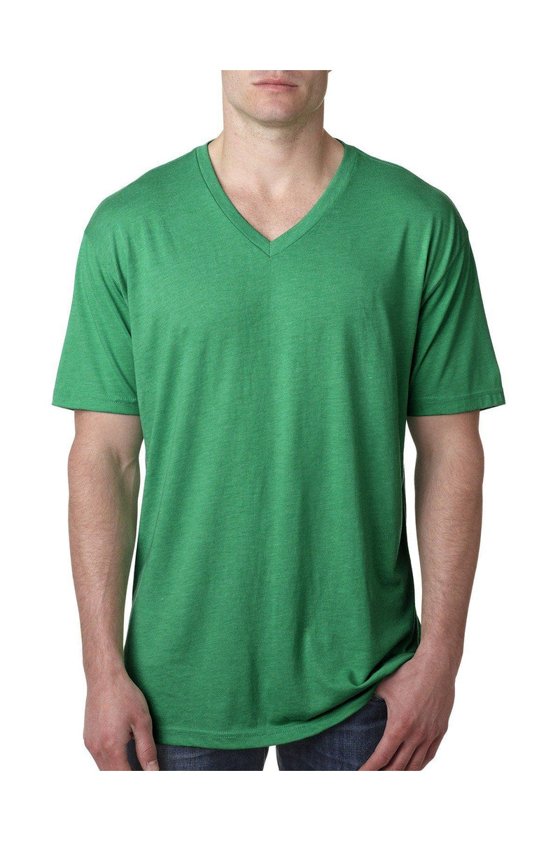 Next Level 6040: Men's Triblend V Neck-T-Shirts-Bulkthreads.com, Wholesale T-Shirts and Tanks