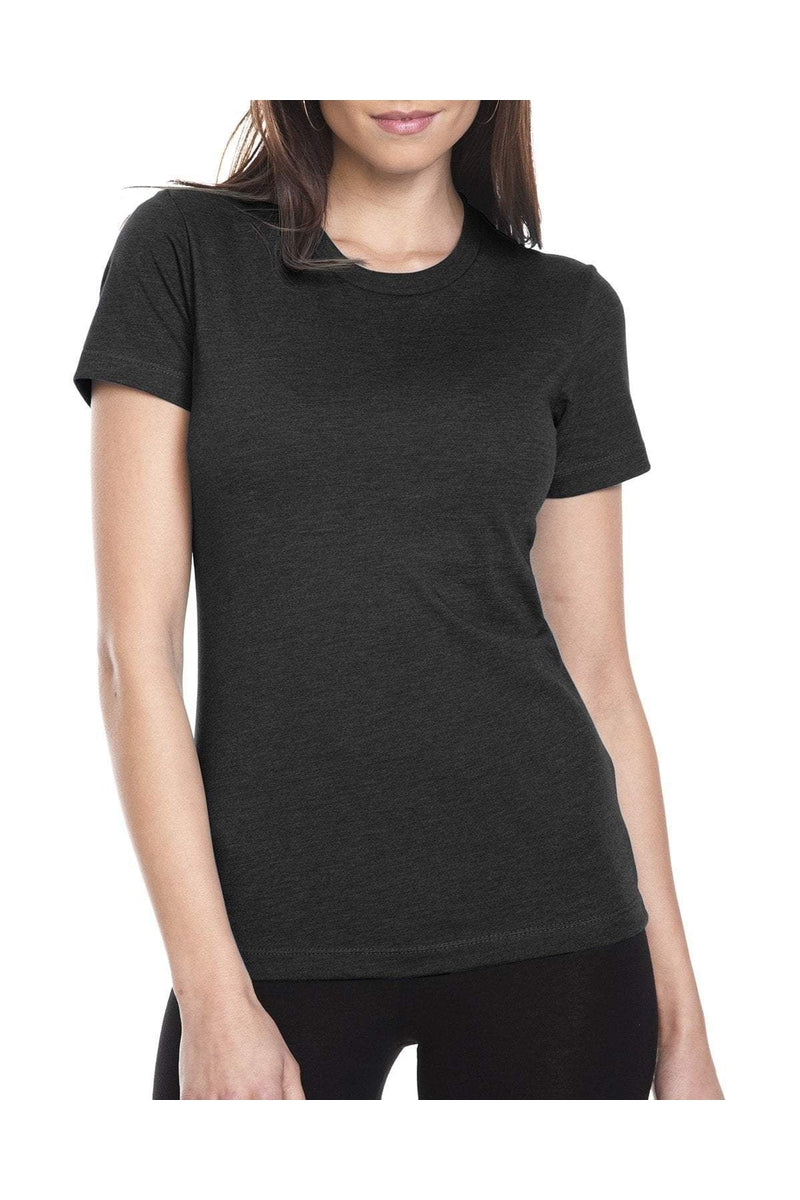 Next Level 6610: Ladies' CVC T-Shirt, Basic Colors-T-Shirts-Bulkthreads.com, Wholesale T-Shirts and Tanks