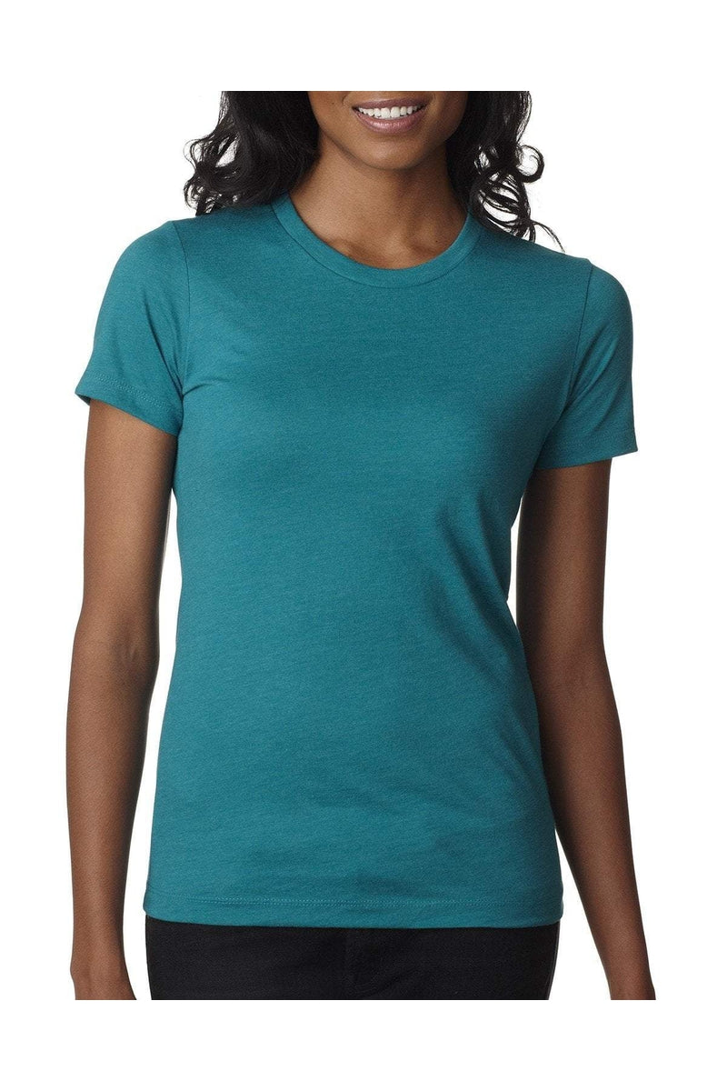 Next Level 6610: Ladies' CVC T-Shirt, Traditional Colors-T-Shirts-Bulkthreads.com, Wholesale T-Shirts and Tanks
