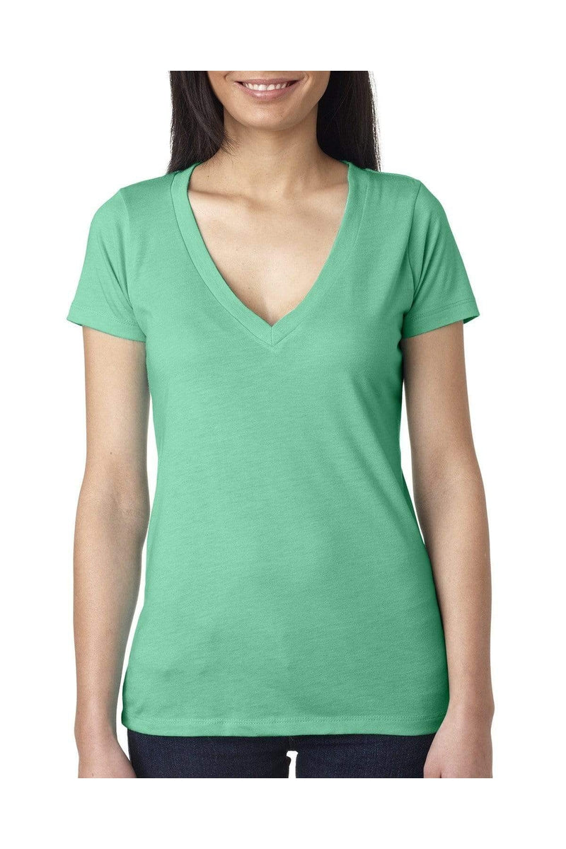 Next Level 6740: Ladies' Triblend Deep V-T-Shirts-Bulkthreads.com, Wholesale T-Shirts and Tanks