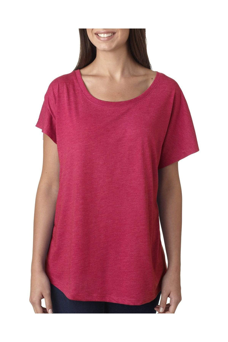 Next Level 6760: Ladies' Triblend Dolman, Basic Colors-T-Shirts-Bulkthreads.com, Wholesale T-Shirts and Tanks