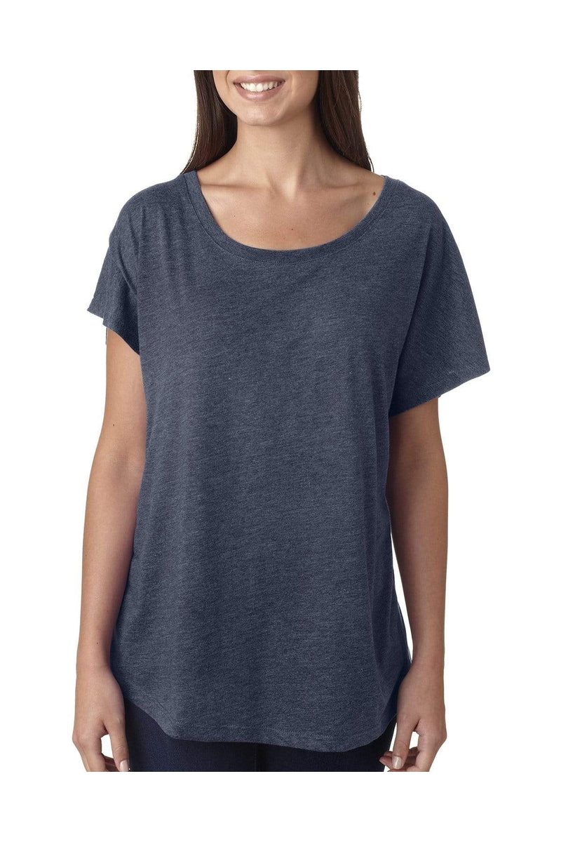 Next Level 6760: Ladies' Triblend Dolman-T-Shirts-Bulkthreads.com, Wholesale T-Shirts and Tanks