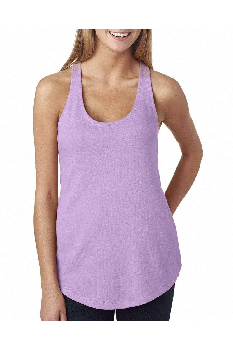Next Level 6933: Ladies' French Terry Racerback Tank, Basic Colors-T-Shirts-Bulkthreads.com, Wholesale T-Shirts and Tanks