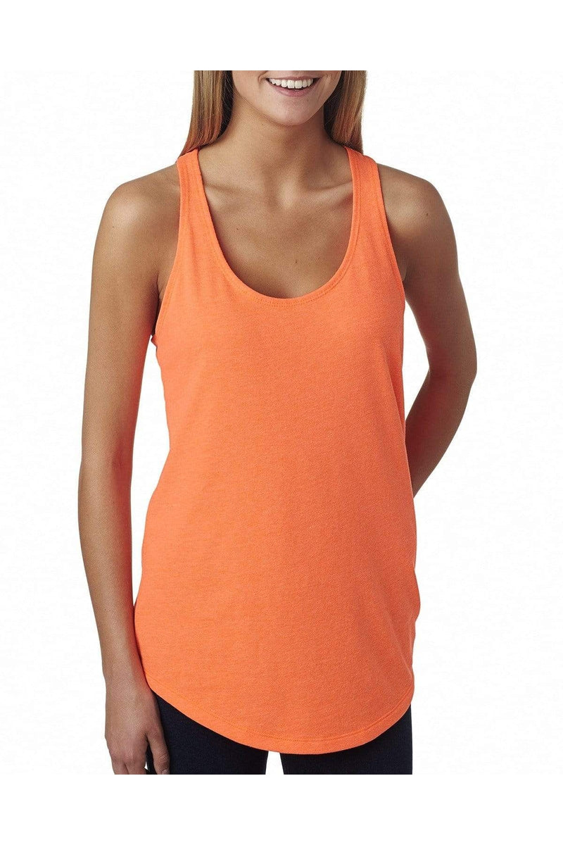 Next Level 6933: Ladies' French Terry Racerback Tank-T-Shirts-Bulkthreads.com, Wholesale T-Shirts and Tanks