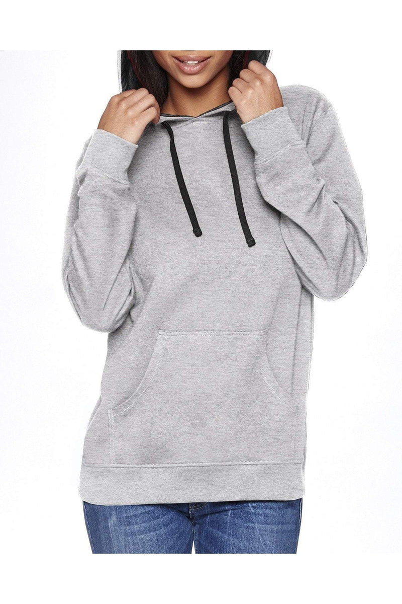 Next Level 9301: Unisex French Terry Pullover Hoody-Sweatshirts-Bulkthreads.com, Wholesale T-Shirts and Tanks