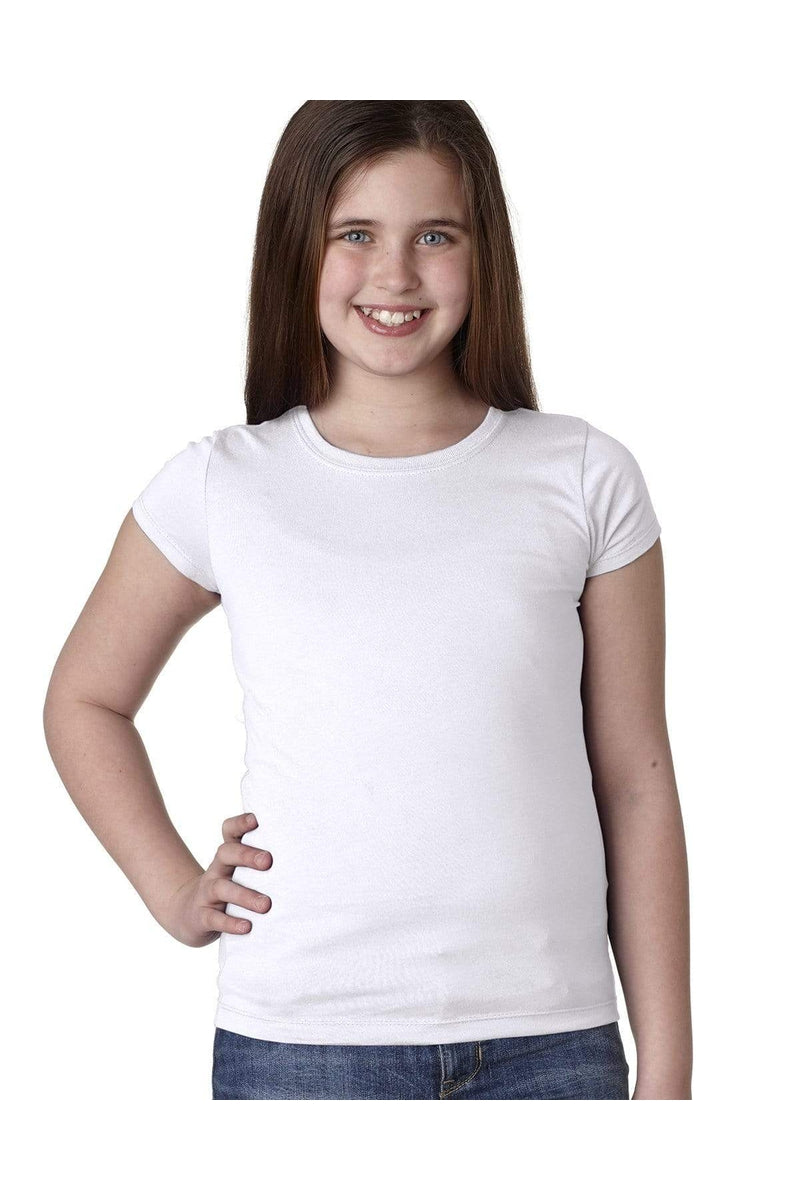 Next Level N3710: Youth Girls' Princess T-Shirt-T-Shirts-Bulkthreads.com, Wholesale T-Shirts and Tanks