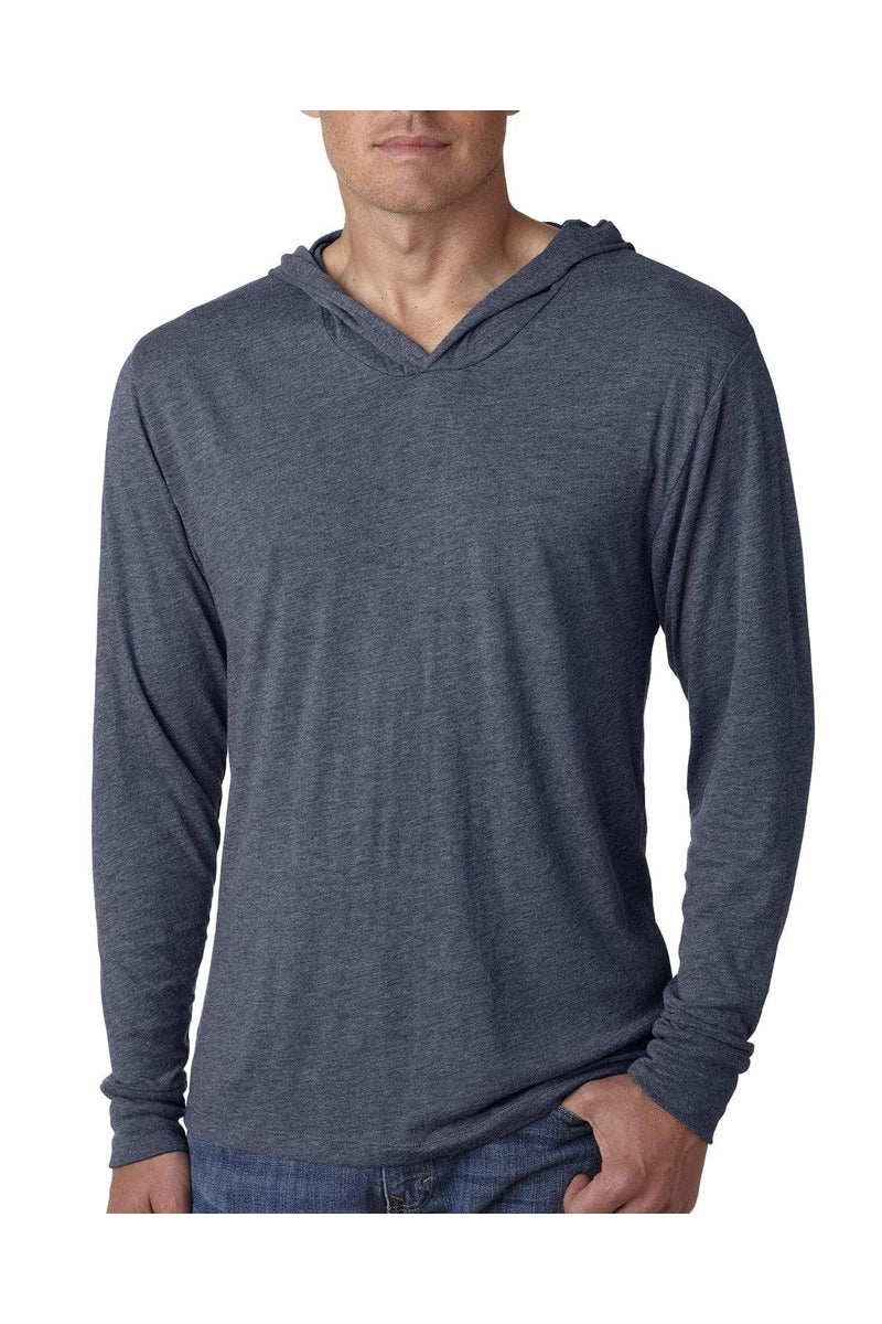 Next Level N6021: Adult Triblend Long-Sleeve Hoody-T-Shirts-Bulkthreads.com, Wholesale T-Shirts and Tanks
