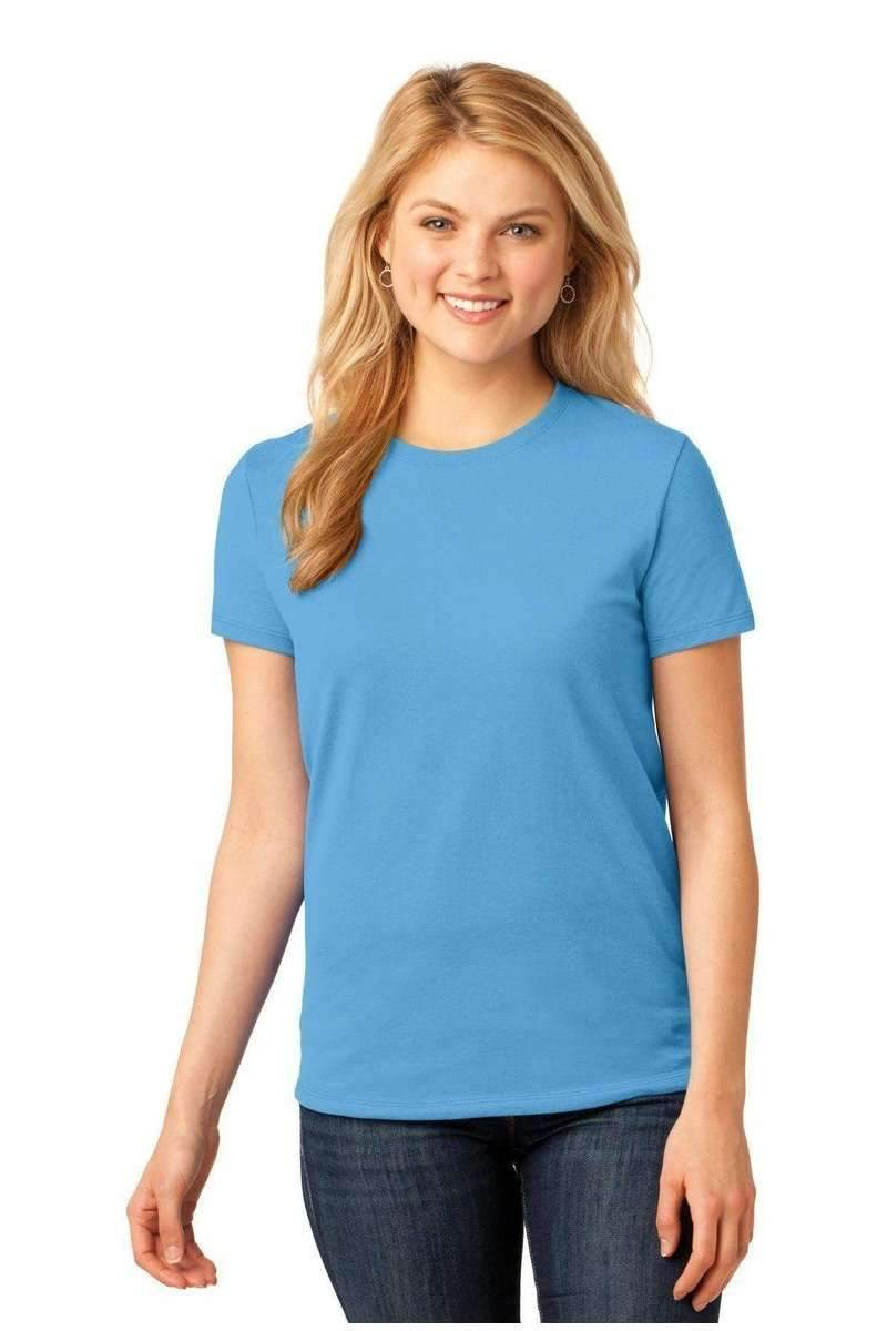 Port & Company Ladies Core Cotton Tee. LPC54-Ladies-Bulkthreads.com, Wholesale T-Shirts and Tanks