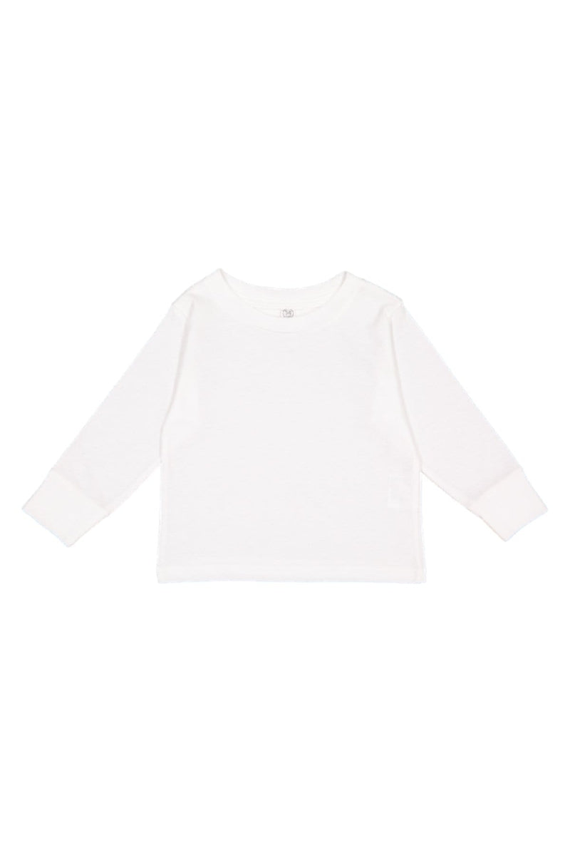 Rabbit Skins 3311: Toddler Long-Sleeve Cotton Jersey T-Shirt-Infants | Toddlers-Bulkthreads.com, Wholesale T-Shirts and Tanks