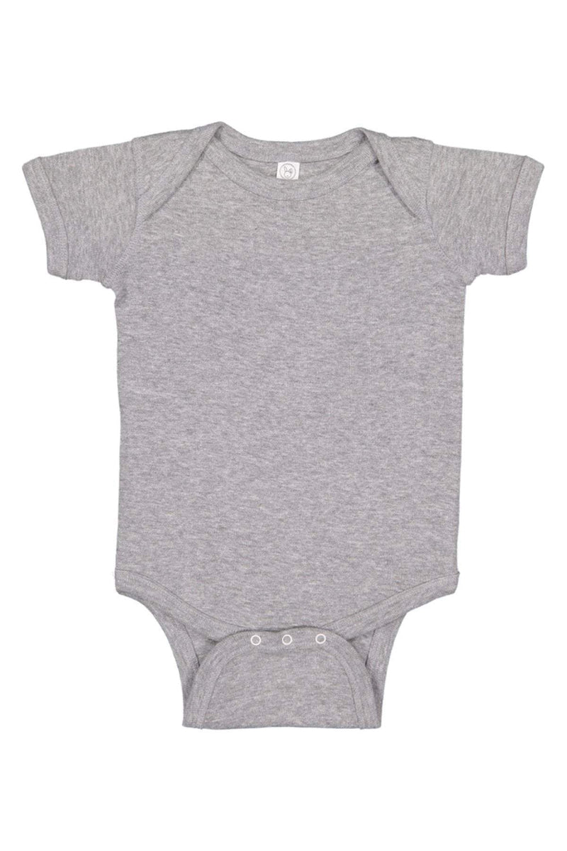Rabbit Skins 4400: Infant Baby Rib Bodysuit, Basic Colors-Infants | Toddlers-Bulkthreads.com, Wholesale T-Shirts and Tanks