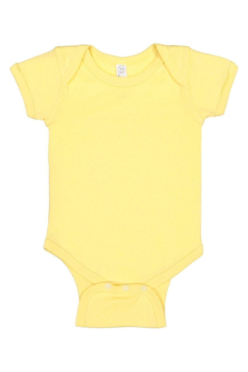 Rabbit Skins 4400: Infant Baby Rib Bodysuit, Traditional Colors-Infants | Toddlers-Bulkthreads.com, Wholesale T-Shirts and Tanks