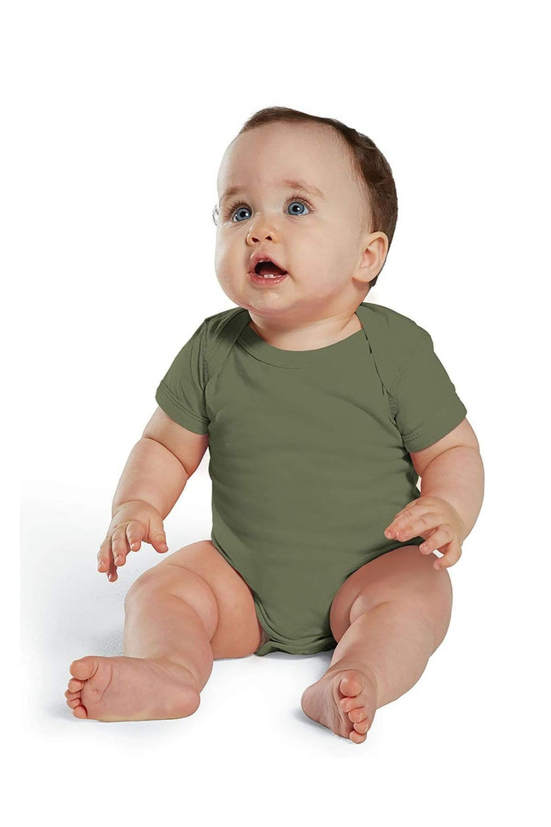 Rabbit Skins 4424: Infant Fine Jersey Bodysuit, Traditional Colors-Infants | Toddlers-Bulkthreads.com, Wholesale T-Shirts and Tanks