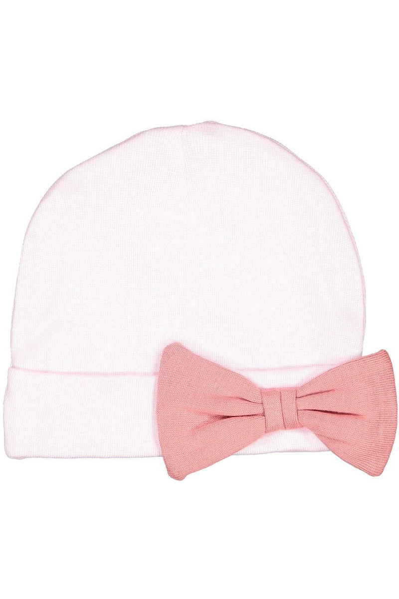 Rabbit Skins 4453: Infant Baby Rib Bow Cap-Infants | Toddlers-Bulkthreads.com, Wholesale T-Shirts and Tanks