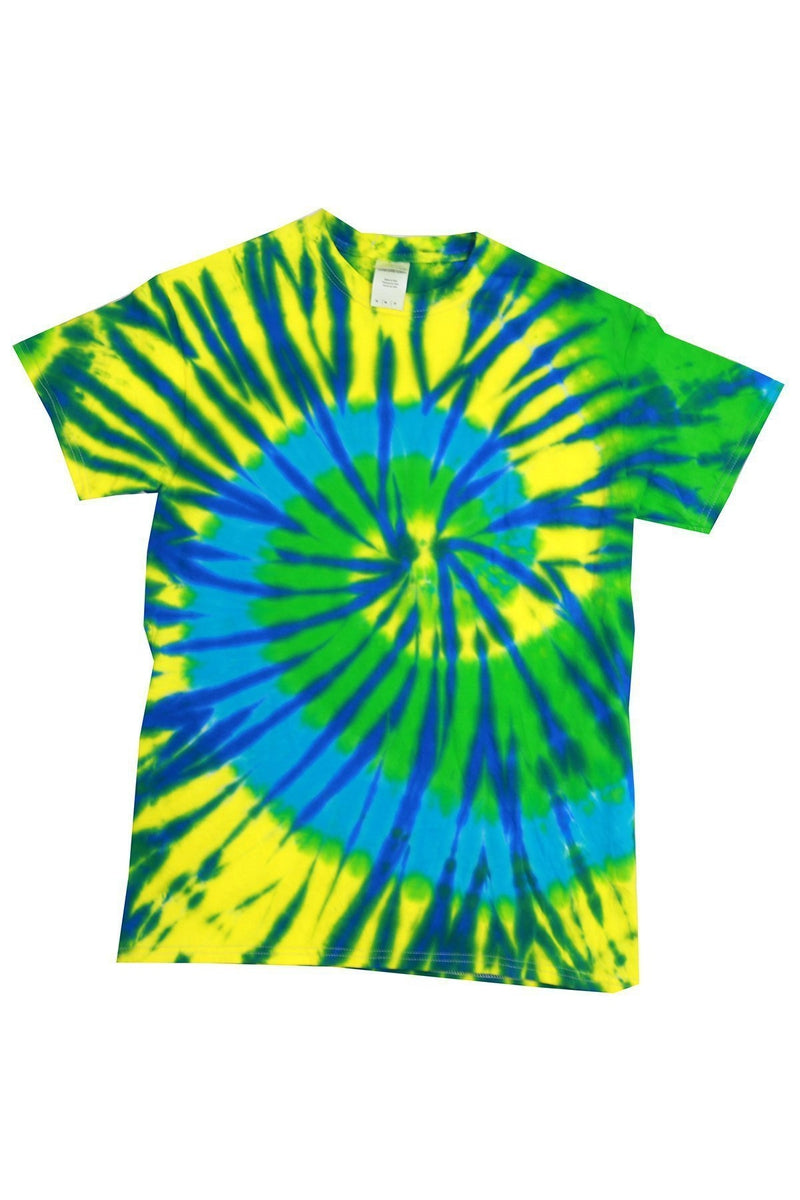 Tie-Dye CD100: Adult 5.4 oz., 100% Cotton T-Shirt, Extended Colors 23-T-Shirts-Bulkthreads.com, Wholesale T-Shirts and Tanks