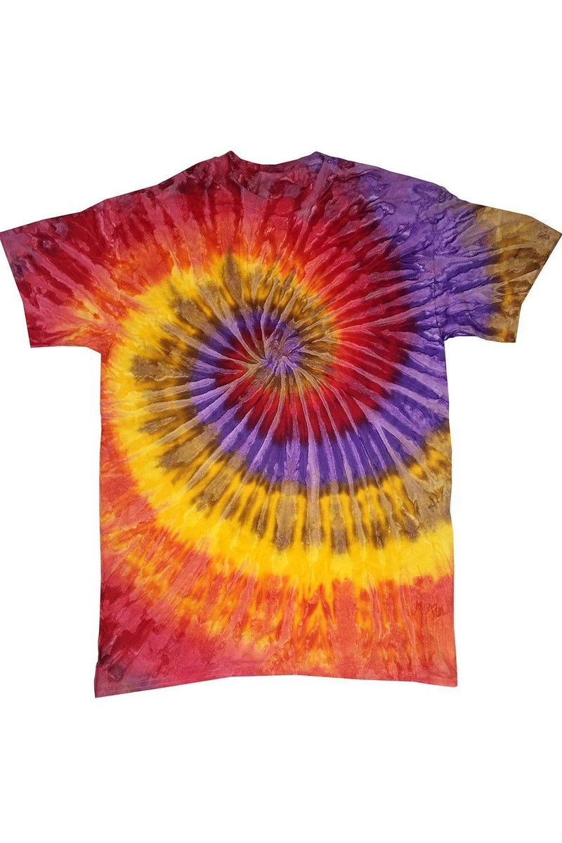 Tie-Dye CD100Y: Youth 5.4 oz. 100% Cotton T-Shirt, Extended Colors 10-Tie-Dye-Bulkthreads.com