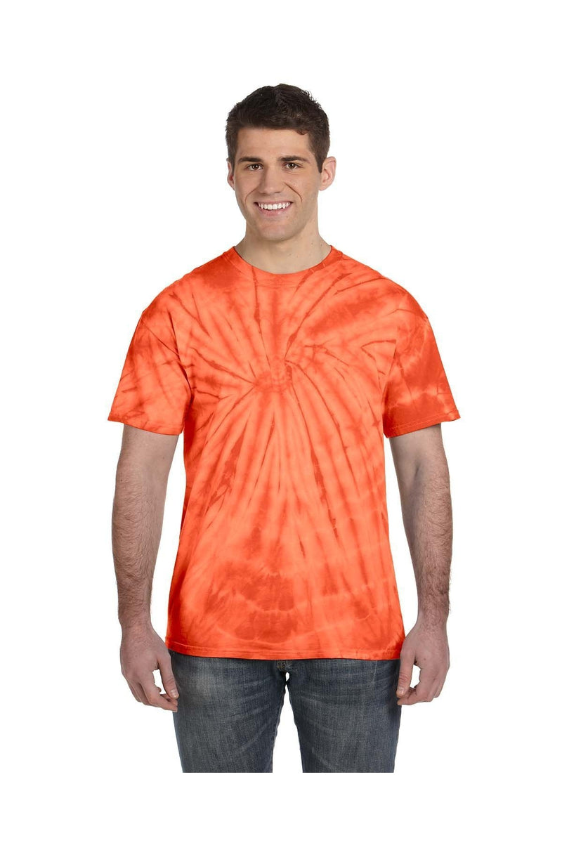 Tie-Dye CD101: Adult 5.4 oz. 100% Cotton Spider T-Shirt, Basic Colors-T-Shirts-Bulkthreads.com, Wholesale T-Shirts and Tanks