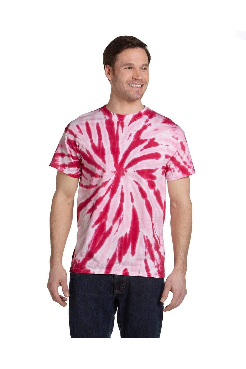 Tie-Dye CD110: Adult 5.4 oz., 100% Cotton Twist Tie-Dyed T-Shirt, Basic Colors-T-Shirts-Bulkthreads.com, Wholesale T-Shirts and Tanks