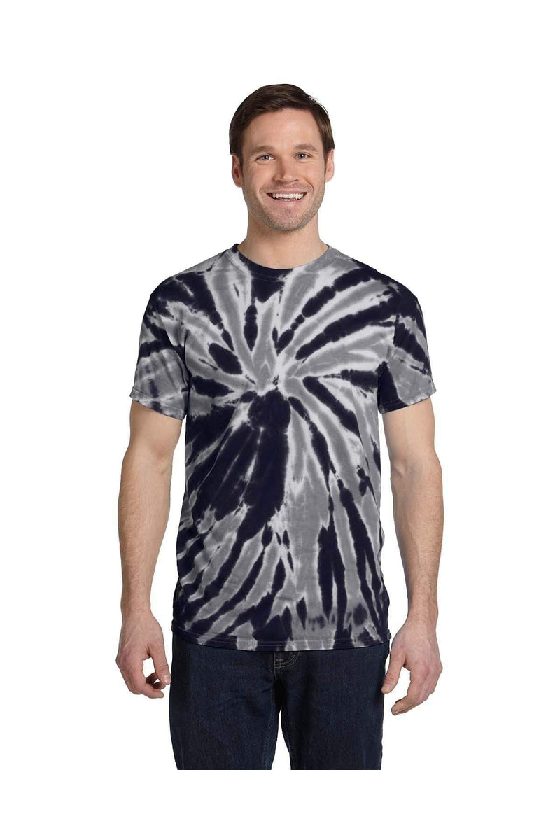 Tie-Dye CD110: Adult 5.4 oz., 100% Cotton Twist Tie-Dyed T-Shirt-T-Shirts-Bulkthreads.com, Wholesale T-Shirts and Tanks
