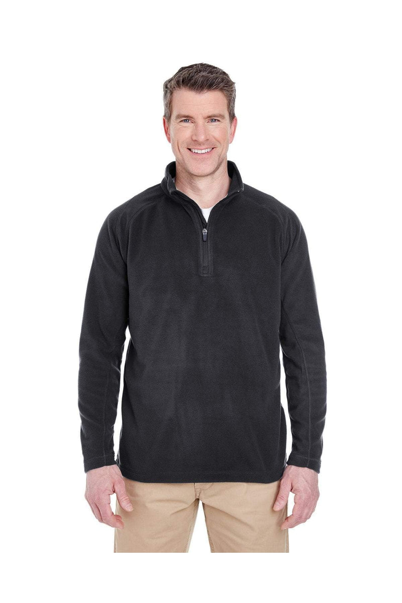 UltraClub 8180: Adult Cool & Dry Quarter-Zip Microfleece-Fleece-Bulkthreads.com, Wholesale T-Shirts and Tanks