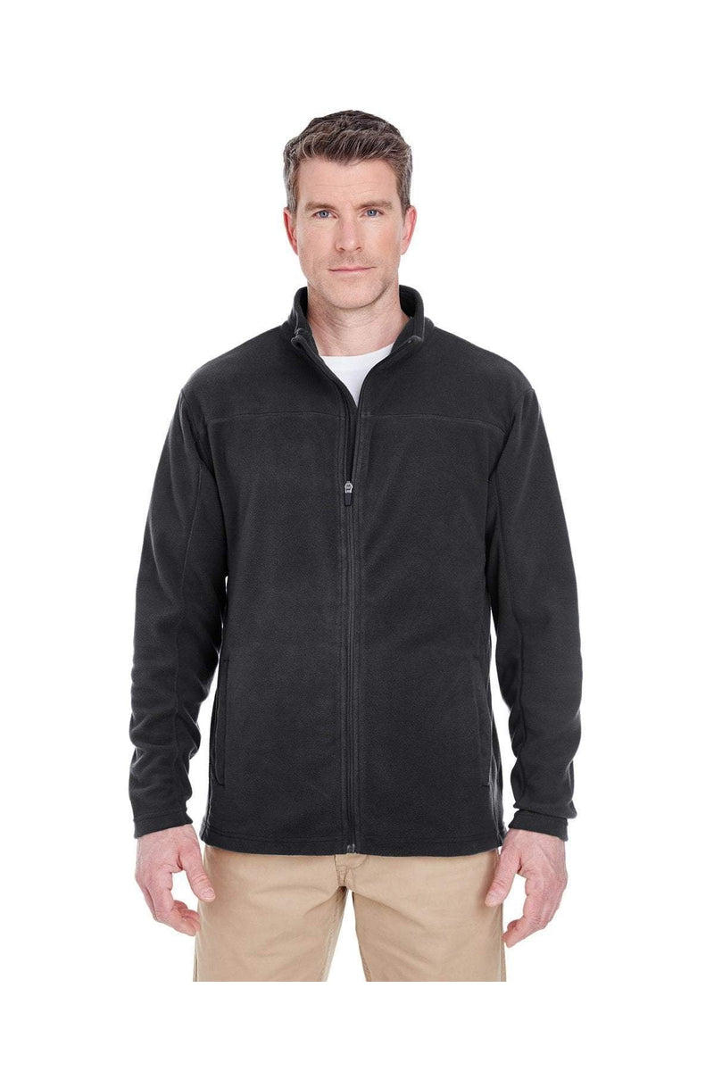 UltraClub 8185: Men's Cool & Dry Full-Zip Microfleece-Fleece-Bulkthreads.com, Wholesale T-Shirts and Tanks