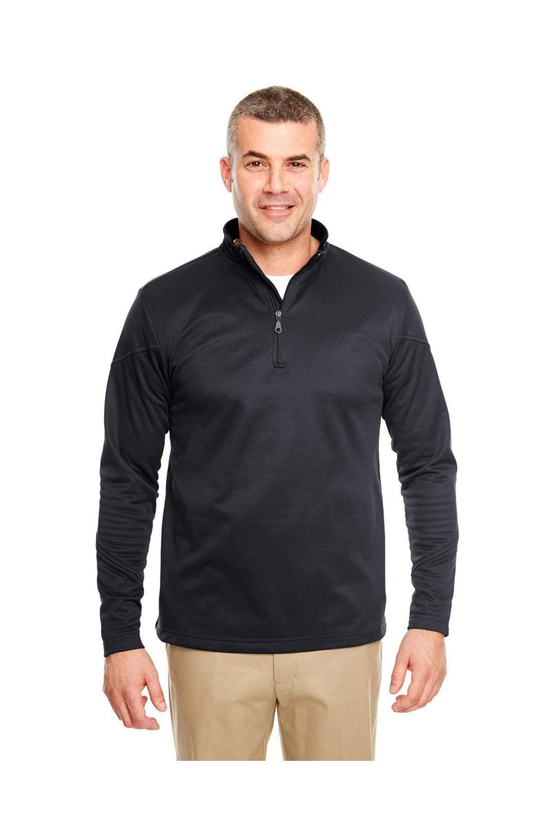 UltraClub 8440: Adult Cool & Dry Sport Quarter-Zip Pullover Fleece-Fleece-Bulkthreads.com, Wholesale T-Shirts and Tanks