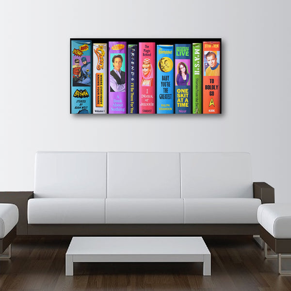 Must See TV - LE Canvas Print