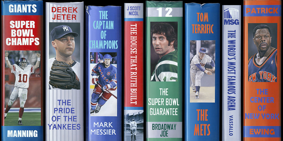 NY Sports Legends - LE Canvas Print