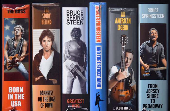 Story of Bruce Springsteen - LE Canvas Print