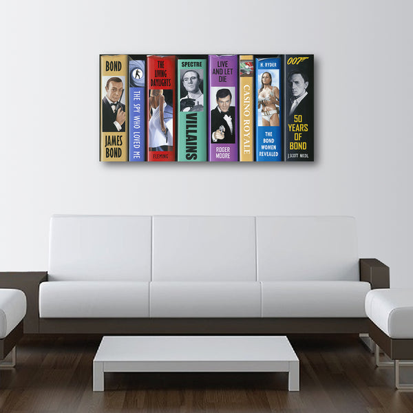 50 Years of Bond - LE Canvas Prints